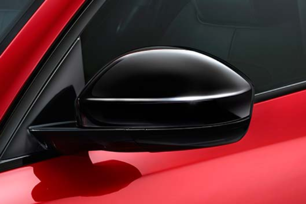 Jaguar F-Pace Gloss Black Wing Mirror Covers
